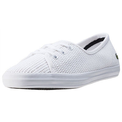 Lacoste Ziane Chunky 217 1 Womens Trainers White New Shoes