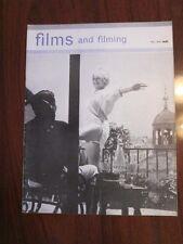 Films & Filming May 1962 Brigitte Bardot Jean Pierre Mocky Jour de Fete