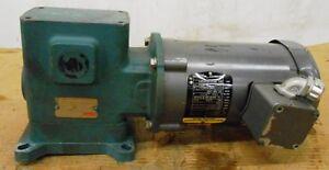 BALDOR-INDUSTRIAL-MOTOR-VM3546-1725-RPM-TIGEAR-GEAR-REDUCER-Q202Y015N056K1