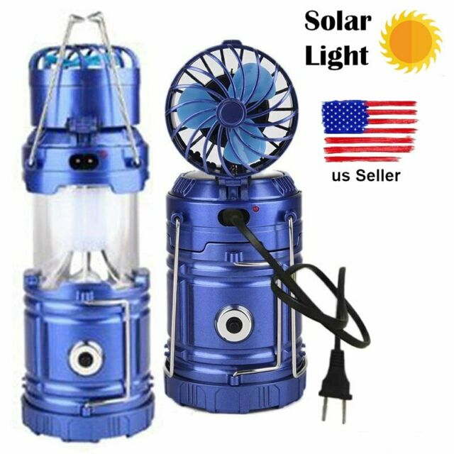 Super Bright LED Camping Light Lantern Rechargeable Tent Lamp Torch Power Bank