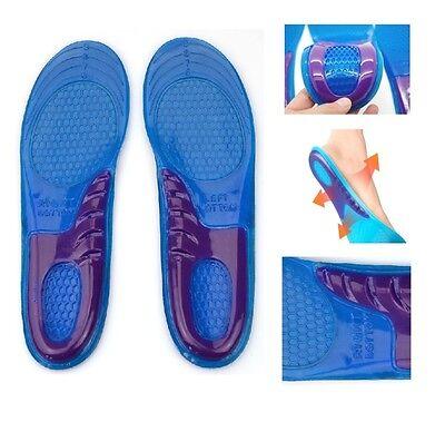 Nuevo soporte para el arco Ortopédico Gel Masaje Zapatos plantillas Comfort 8-12