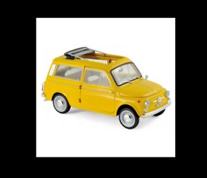 Fiat 500 Giardiniera 1968 Positano Yellow   1 18 Norev 187724