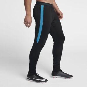 Raisonnable Men's Nike Strike Football Training Pantalon De Survêtement-taille Large L Noir/bleu-afficher Le Titre D'origine Usines Et Mines