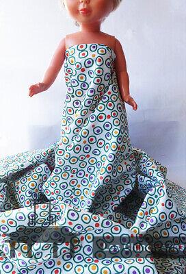 Rigoroso Tejido Para Replicas Nancy U Otras MuÑecas -nancy Doll Fabric Le Merci Di Ogni Descrizione Sono Disponibili