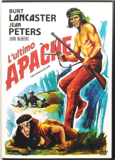 Dvd L'Ultimo Apache di Robert Aldrich 1954 Usato
