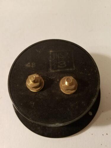 Vintage HOYT Amperes A.C 50 AMP Panel Meter Model 584