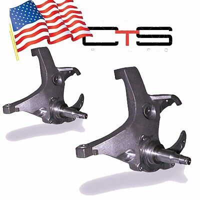 "1991-2006 Chev Caprice Deville 4"" Lifted Spindles (Chg to GM88 Rotors/Calipers)"