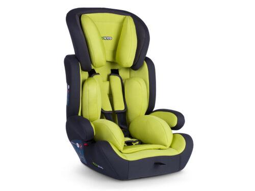 Kinderautositz Autositz 9-36kg Auto 1-3 Gruppe Massi Kind Ricokids grün rot grau