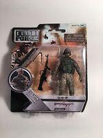 Elite Force 1:18 Army Delta Operator Cobra M60 Gunner Bbi