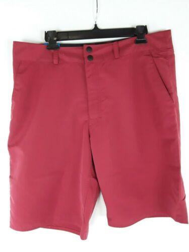 """Columbia Omni-Shade UPF 30 Men/'s Tumwater Shorts Size 36 Inseam 11/"""" Beet Red"""