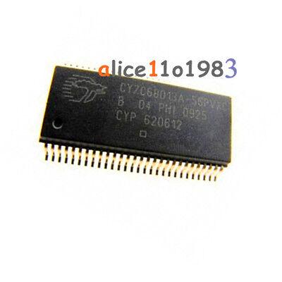 1PCS CY7C68013A CY7C68013A-56PVXC SSOP-56 EZ-USB FX2LP USB Microcontroller CHIP