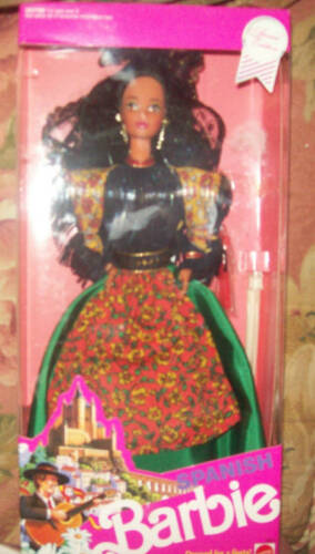 1991 DOTW Spanish Barbie MIB