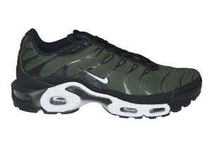 Details zu Mens Nike Tuned 1 Air Max Plus TN - 852630031 - Black Sequoia