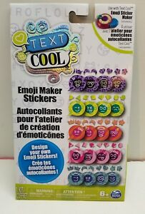 Details about New Text Cool Emoji Maker Stickers Kit 1E