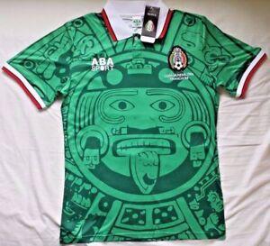 Image is loading MEXICO-1998-HOME-RETRO-VINTAGE-FOOTBALL-SHIRT 134f426e1