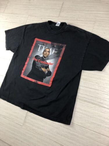 Obama 2008 Tee Shirt Size 2XLarge  Time Magazine T