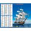 Calendrier-2021-La-Poste-Almanachs-PTT-35-References-Divers-Animaux-Paysages miniature 50
