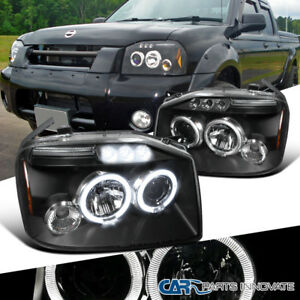 Image Is Loading For 2001 2004 Nissan Frontier Black Clear Halo