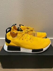 Details about Adidas NMD R1 Primeknit EQT Yellow Mens New Authentic S23749