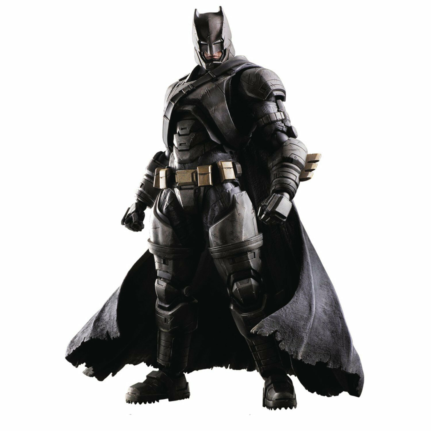 Officially Licensed BvS Dawn of Justice Armor Batman Play Arts Kai Action Figure