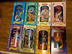 Walt Disney Collector Series Cups Glasses Burger King Complete Set of 8 1994