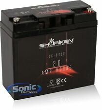 SHURiKEN SK-BT20 12V High Performance AGM Power Cell Car Battery
