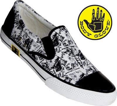 Body Glove Herren Slip On Schuhe Weiß BG0882-999, NEU!