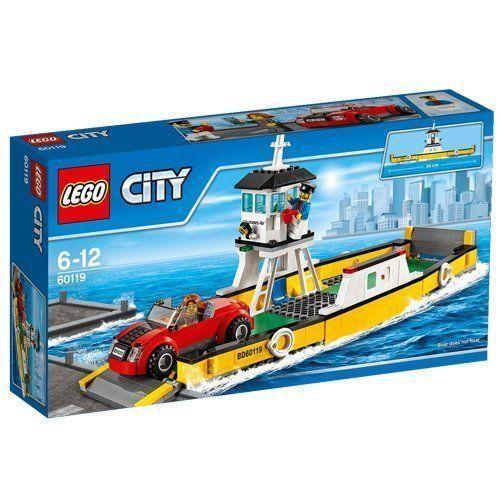 LEGO 60119 City Great Vehicles Ferry Playset