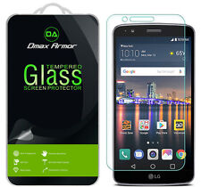 [3-Pack] Dmax Armor LG Stylo 3 Plus Tempered Glass Screen Protector