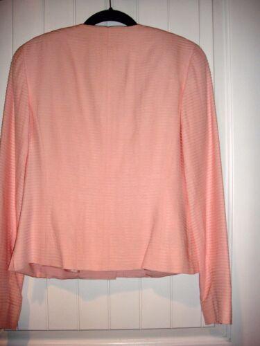 in seta petalo giacca elegante e rosa vestito piumino Completo di tYOHqqw