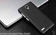 Black Matte Hard Back Case Cover For Xiaomi Redmi Note 2/ Note Prime