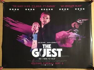 The Guest  Original Cult Cinema Quad Poster  Dan Stevens  Adam Wingard - <span itemprop=availableAtOrFrom>London, United Kingdom</span> - The Guest  Original Cult Cinema Quad Poster  Dan Stevens  Adam Wingard - London, United Kingdom