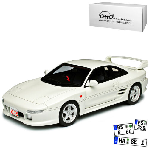 Generation 1989-1999 nr 749 1//18 Otto Toyota mr2 sw20 TRD 2000gt Coupe Blanco 2