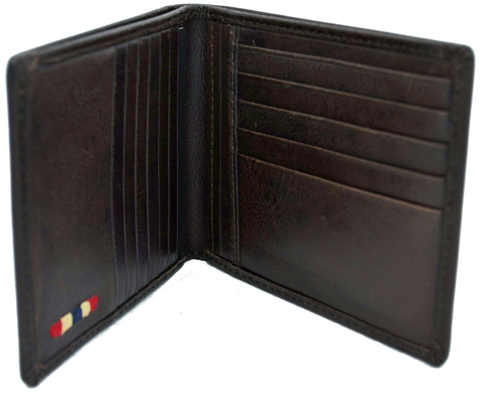 Wallet man Napapijri Wallet Men Brown Brown n8g02 Rugged Billfold 12 CC