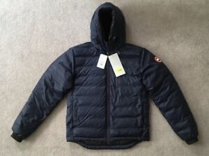 Canada-Goose-Lodge-Down-Hoody-Admiral-Blue-Vgc
