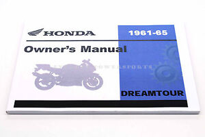 Details about New Owners Manual C72 C77 DREAM TOUR 1961-1965 Honda on