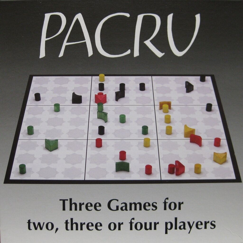 New PACRU abstract strategy board game