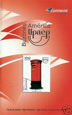CHILE, MAILBOXES, UPAEP BROCHURE, YEAR 2011