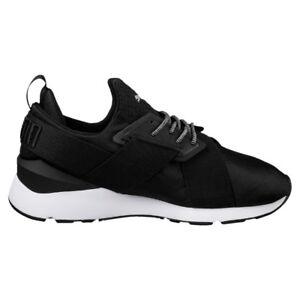 Muse Sneaker Donna Bianco Bianco 38, Bianco (Nero/Argento), 39 EU