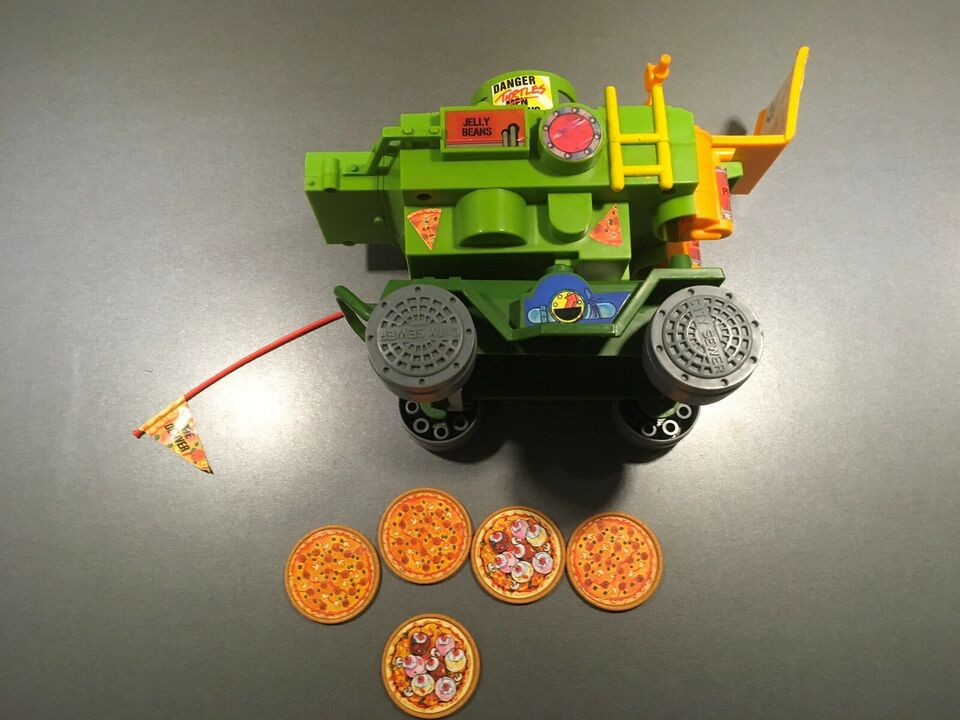 Vontage turtles pizza shooter, Tmnt