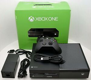 NEW-Microsoft-XBOX-One-500GB-Black-1540-Console-Bundle-Gaming-System-500-GB-Set