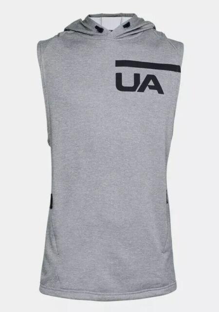 Under Armour Men/'s MK-1 Terry Sleeveless Hoodie Sweatshirt