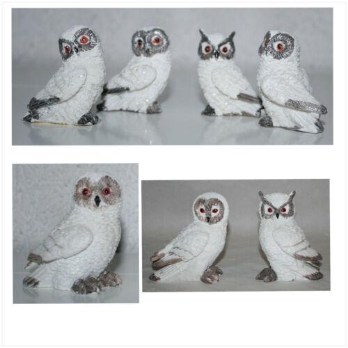 Dekoration Tierfiguren Eulen verschiedene Motive Sets Größen Varianten