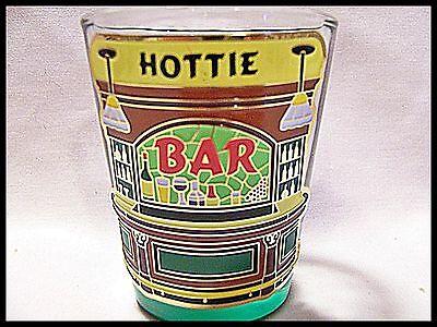 Shot Glass Hottie (Who names their kid Hottie?) New Barware Bartender Recipe SG