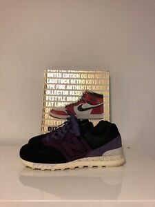 official photos e9580 dc5fc New Balance 574 Sneaker Freaker Tassie Devil Sz 9 US Purple Black | eBay