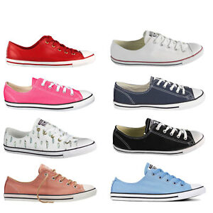 a5ef255f48a45e Converse all Star Chuck Taylor Dainty Ox Women s Sneakers Shoes ...