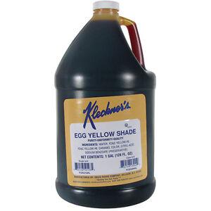 Egg Yellow Food Coloring - 1 Gallon Commercial Grade | eBay