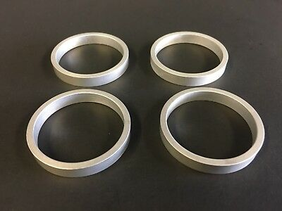 """QTY 4 5.5mm Thickness CNC Machined Aluminum 1 1//4/"""" Headset Spacers"""