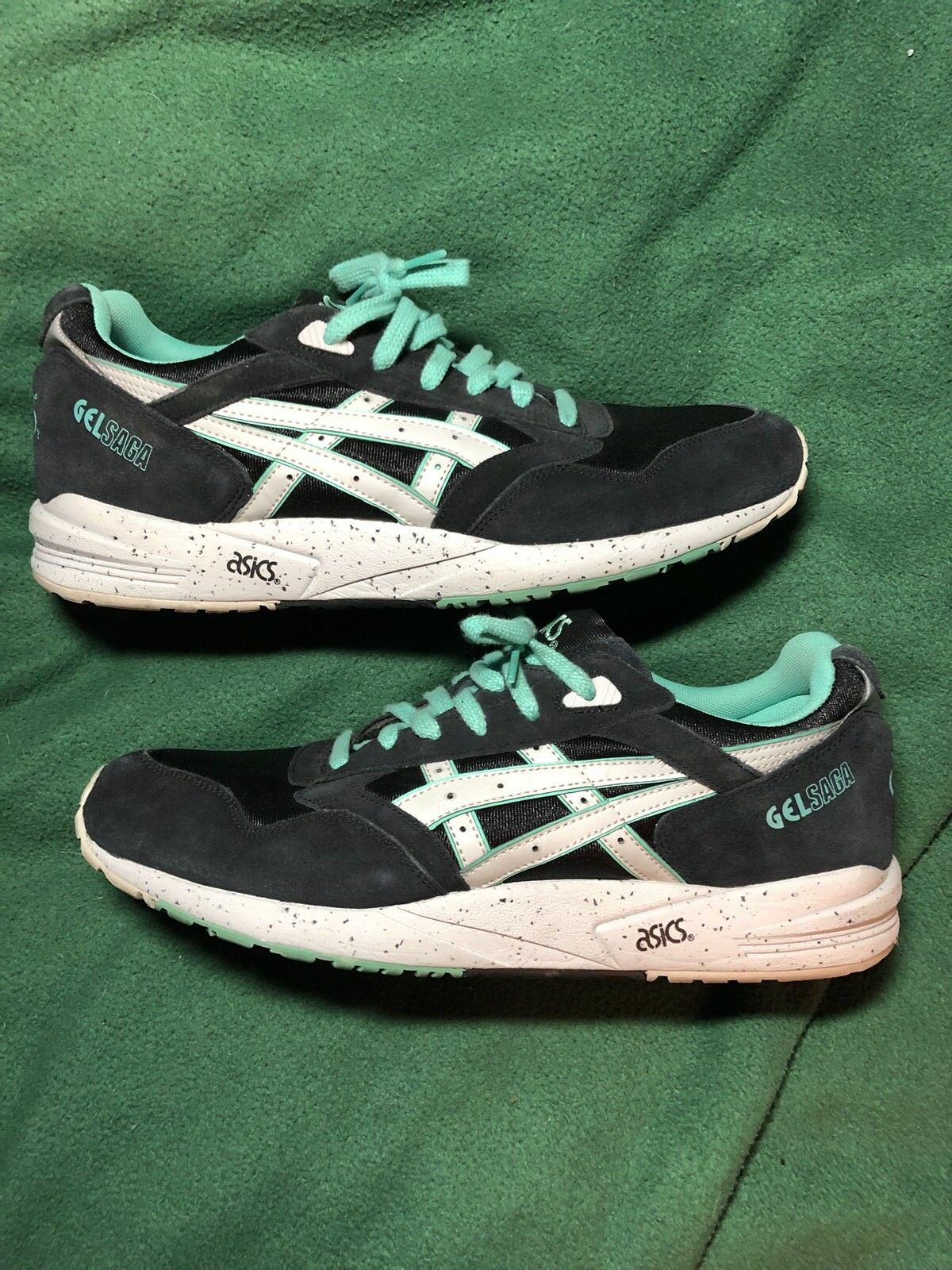 ASICS Gel Saga Mint/Blue Size 12