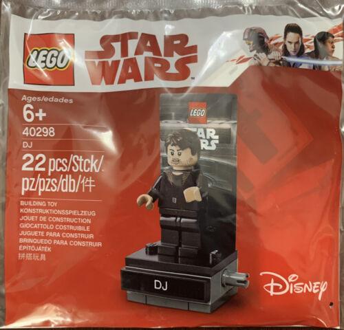 LEGO 40298 STAR WARS DJ POLYBAG 22 PIECES NEW THE LAST JEDI MINIFIGURE RETIRED